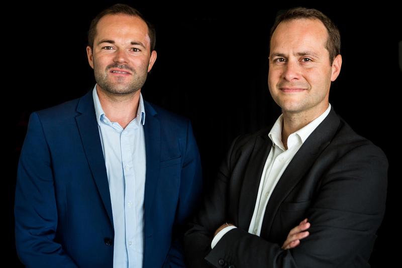 Jordan Masson et Cyril Pigeon, courtiers en financement à Rezé